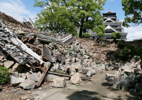 2016年5月熊本地震で大きな被害を受けた熊本城.jpg
