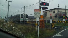 Miyukiさんもこの電車で通学しました