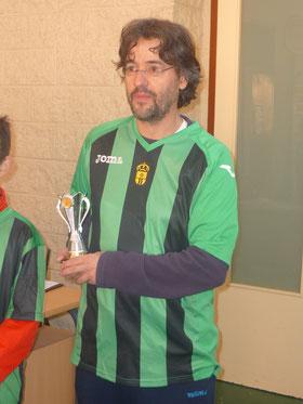 Julio Candelas, subcampeón en open.