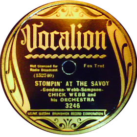 STOMPIN AT THE SAVOY-clasicos del jazz-standards jazz