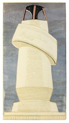 MÜRITZ (HOMMAGE À SHARAKU)  2003  42 x 23 cm