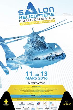 Salon de l'hélico à Courchevel 2016 , 1ère édition du Salon de l'hélicoptère - Spécial secours en montagne