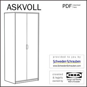 ASKVOLL Schrank