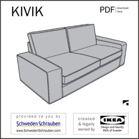 KIVIK Anleitung manual IKEA Sofa 2