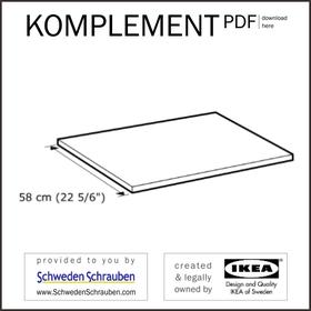 KOMPLEMENT Anleitung manual IKEA Boden