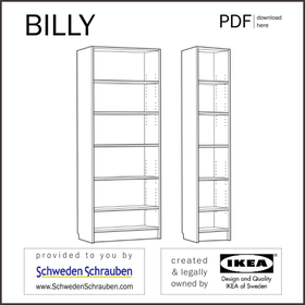 BILLY Anleitung manual IKEA Regal