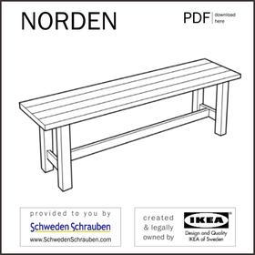 NORDEN Anleitung manual IKEA Bank