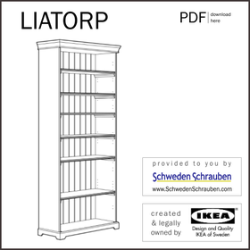 LIATORP Anleitung manual IKEA Regal