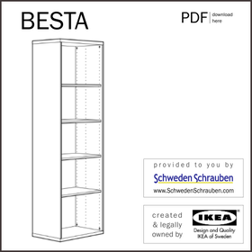 BESTA Anleitung manual IKEA Regal