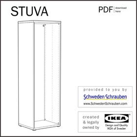 STUVA Anleitung manual IKEA Kleiderschrank