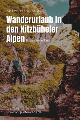 Pinterest Pin Kitzbüheler Alpen