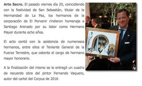 Revista Arte Sacro. Enero 2017