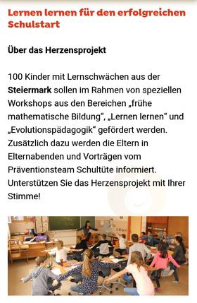 06.10.2020 Die Rewe Gruppe bewirbt die Herzensprojekte, die sie finaniell unterstützen, online.