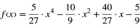 Funktionsgleichung f(x)