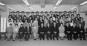 第一届日本语课程毕业仪式