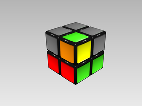 Figura 4b. Esquina colocada en una posición incorrecta. Nótese que el color naranja no cuadra.
