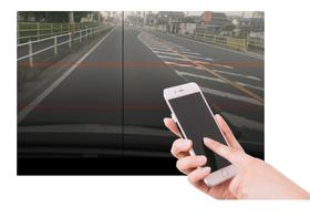 AI道路診断システム|道路をスマートフォンで撮影