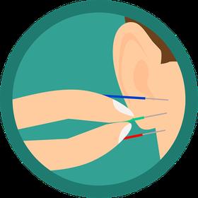 眼精疲労に効果的な鍼刺激と温灸刺激は博多区のはり灸こんどうで治療をおすすめします。