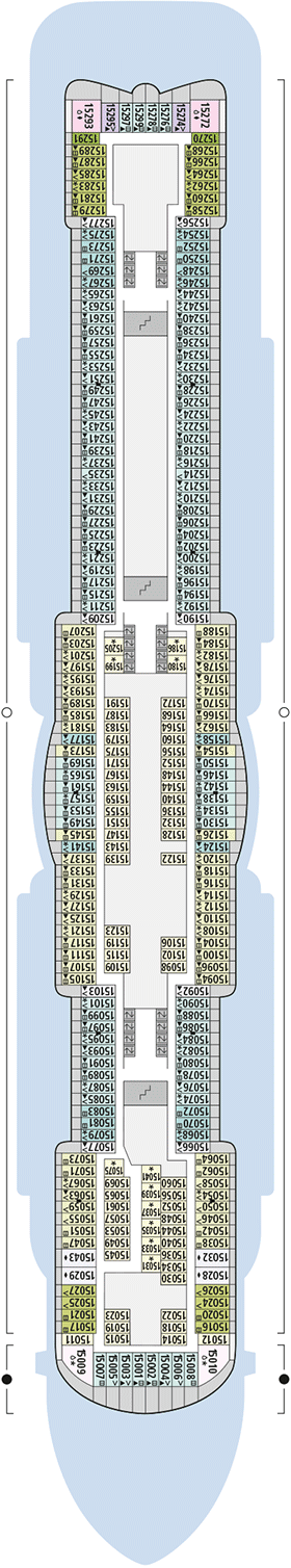 AIDAnova Deck 15 | © AIDA Cruises
