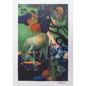 "P.Gauguin ""le cheval blanc"""