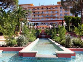 L'hôtel côté mer...