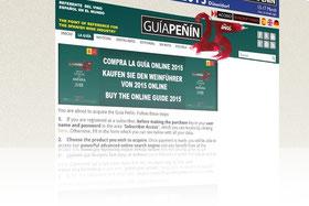 スペインワインガイド Guía Peñín ギア・ペニン 2015、3言語で登場 (www.vinetur.com)