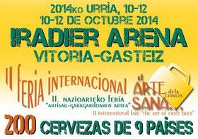 ヴィトリアにて、10月10日から12日までインターナショナルクラフトビール祭開催 (www.winesfromspain.com)