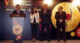 第6回 Concurso de Vinos 'Tierra del Quijote' ティエラ・デル・キホーテ ワインコンクール受賞式 (www.vinetur.com)
