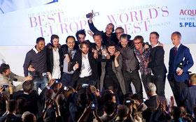 2014年世界のベストレストラン50の発表セレモニーの様子 (www.diariodegastronomia.com)