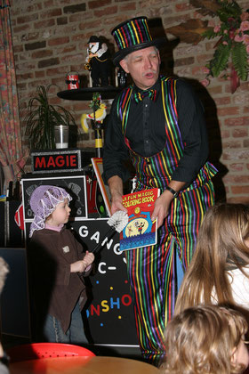 Wolfgang der Magier: Zauberer für Kinder