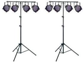 LED PAR 56 4er T-BAR
