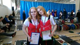 Ангелина СМирнова и Арина Петрова