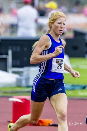 Jana Groß-Hardt hat überall die Nase vorn: vom 5000-m-Lauf bis zum Marathon hält sie die Vereinsrekorde inne. (Foto: Jan-Hendrik Ridder)