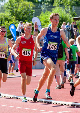 Mittelstreckler Stefan Ritte (140) geht in Leverkusen über 3000 Meter an den Start. (Foto: Jan-Hendrik Ridder)