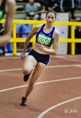 Marie Steldermann hofft auf eine Medaille im 60-m-Hürdensprint. (Foto: Jan-Hendrik Ridder)