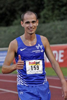 Beim Internationalen Meeting 2014 gewann Hendrik Pfeiffer die 3000m der Männer in 8:10,58 Minuten mit großem Abstand zu seinem Verfolgern. In dem Jahr startete er schon für Wattenscheid.