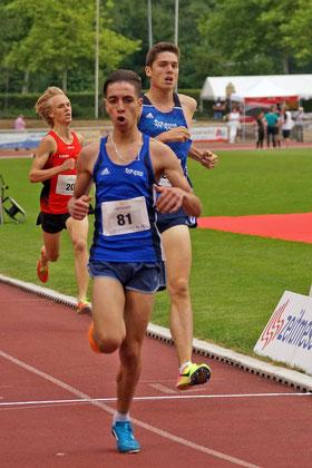 Lauftalent Youssef Wardi distanzierte die Laufkonkurrenz vom Start weg. (Archivfoto)