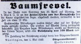 Nürtinger Tagblatt vom 03. 05. 1933