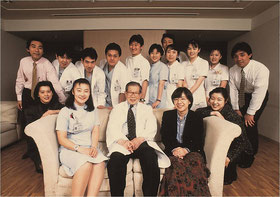 1996年 聖路加病院にて