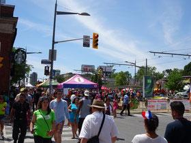 Grosses Besucherinteresse bei Torontos Salsa-Fest 2016.