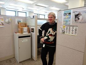 """Mein Beitrag zum """"Ugly Sweater Contest"""" auf der Arbeit."""