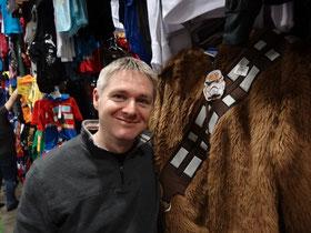 Kostüme auf der Comicon Toronto: Wer sich schon immer in einen Wookie hineinversetzen wollte - hier ist die Chance.
