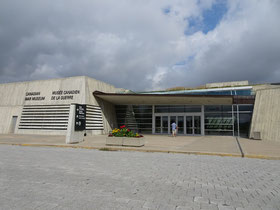 Urlaub in Ottawa: Eingang zum War Museum.