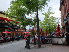 Urlaub in Ottawa: Zugang zum ByWard Market.
