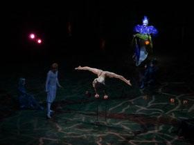 Varekai in Toronto: Eine Akrobatin des Cirque du Soleil.