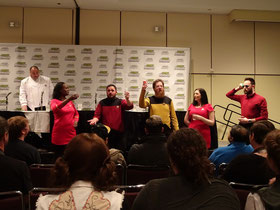 Toronto Comicon 2017: Grossartige Improvisations-Komödie zum Thema Star Trek (Raumschiff Enterprise.)