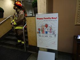 Die Feuerwehr von Toronto im Feiertags-Einsatz.