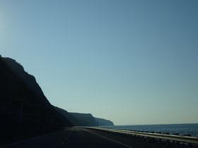 Urlaub in Quebec: Die Route 132 liegt an der Nordküste der Gaspésie-Halbinsel direkt am Sankt-Lorenz-Strom.