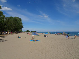 Woodbine Beach: Sandstrand in Toronto.