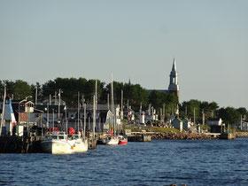 Abendstimmung im kleinen Hafen von Cheticamp, dem westlichen Tor zum Cape Breton Highlands Nationalpark.